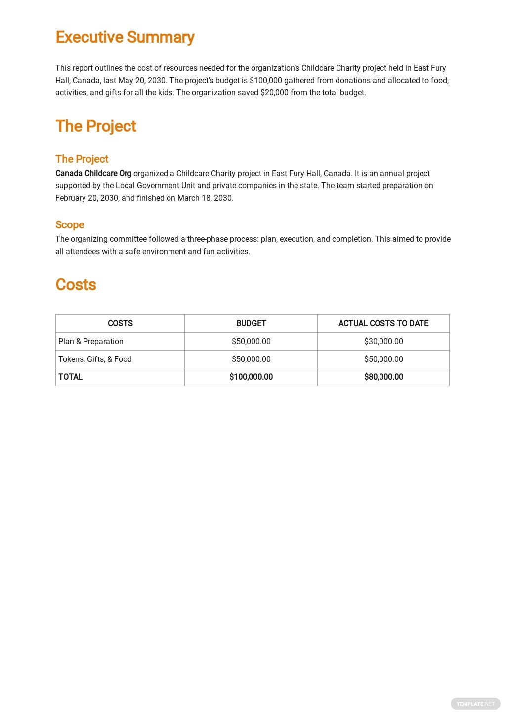 Free Expense Report Template 1.jpe