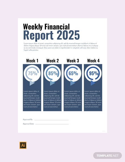 free financial report template 440x570 1