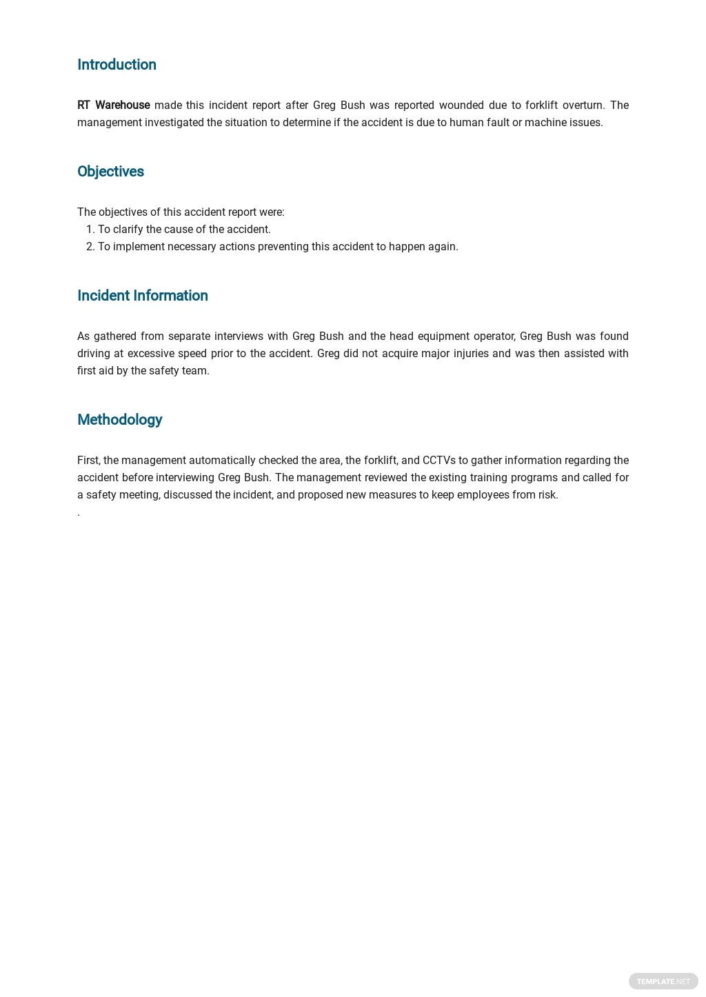Free Incident Report Template 1.jpe