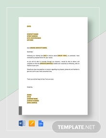Enclosed Proposal for Review Template