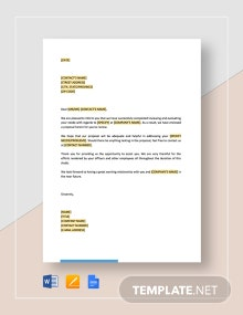 Letter Enclosing Proposal Long Template