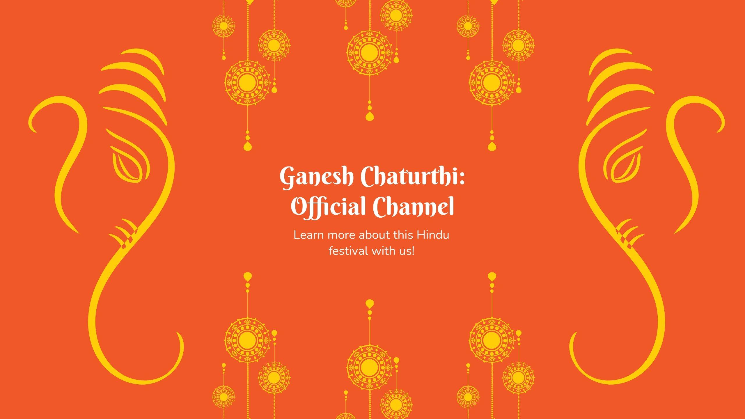 Ganesh Chaturthi Youtube Banner Template.jpe