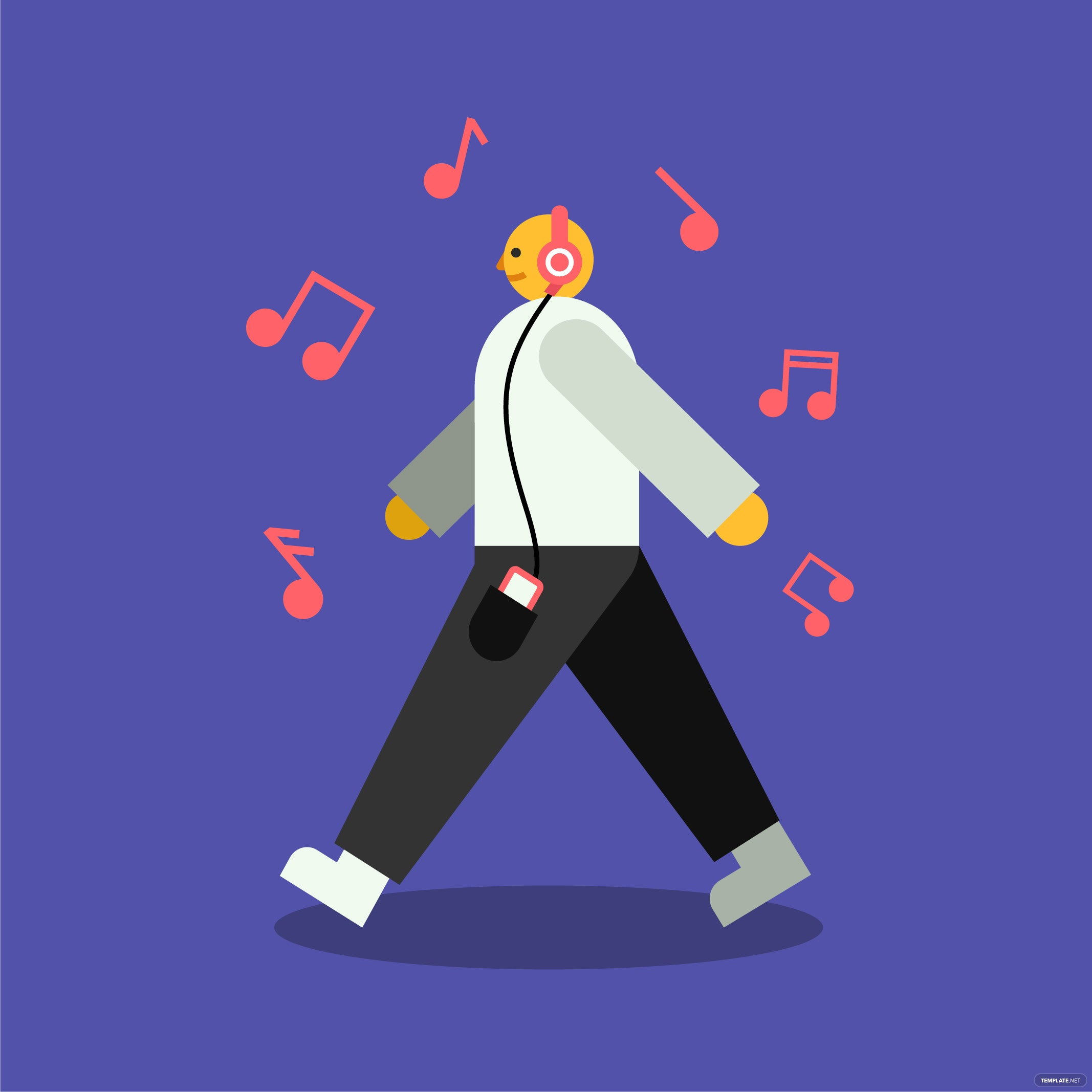 Simple Music Vector