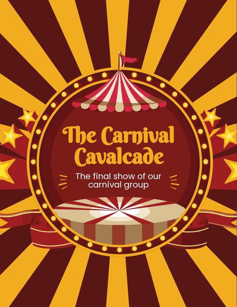 Carnival Show Flyer Template.jpe
