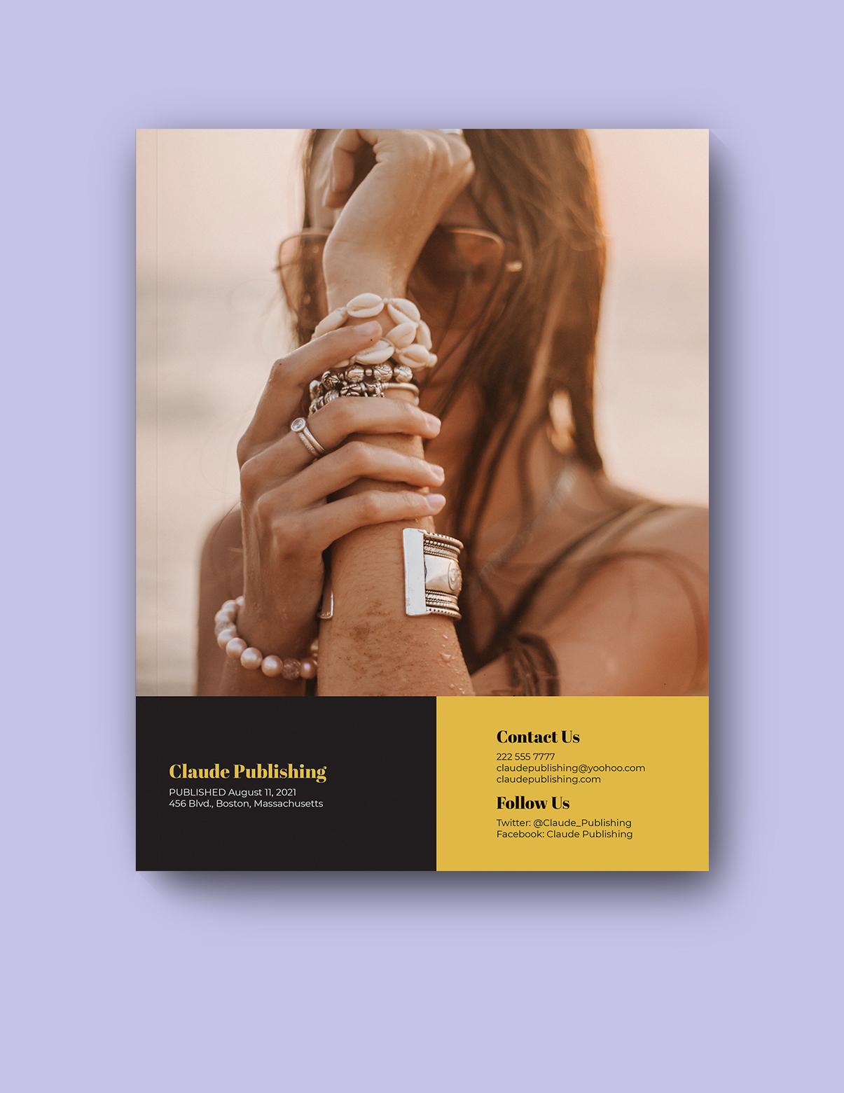 Digital Jewelry catalog Template