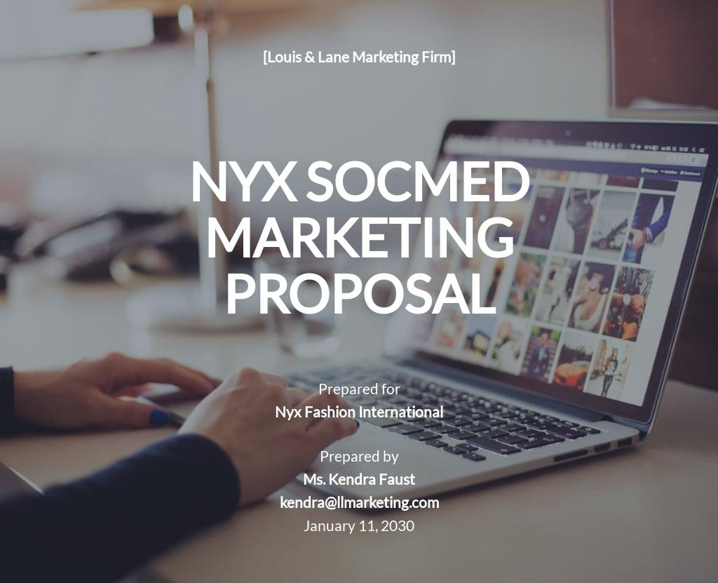 Social Media Marketing Proposal Template .jpe