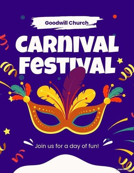 Church Carnival Flyer Template.jpe