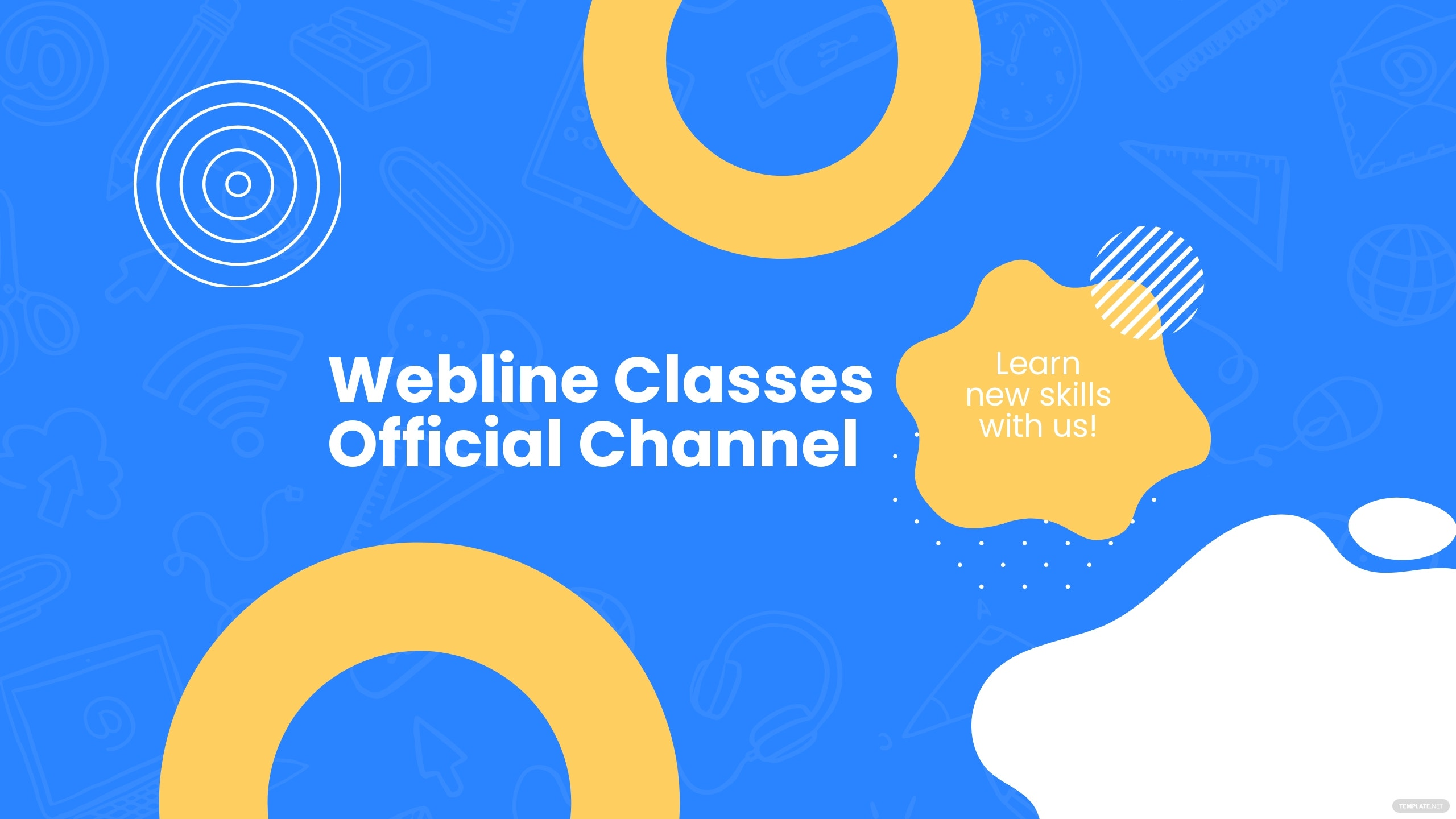 Online Courses Youtube Banner Template.jpe
