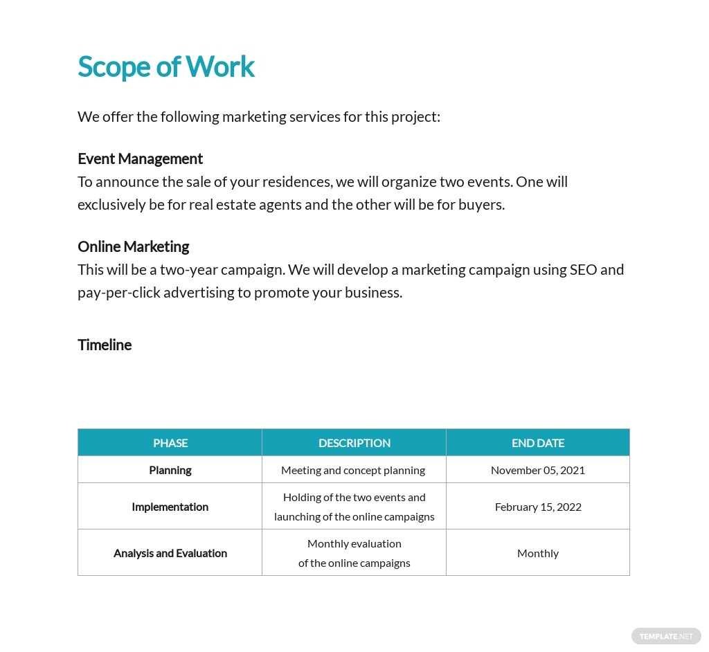 Marketing Agency Proposal Template [Free PDF] - Google Docs, Word, Apple Pages, PDF