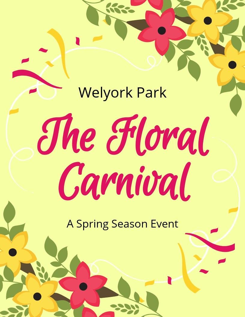 Spring Carnival Flyer Template.jpe
