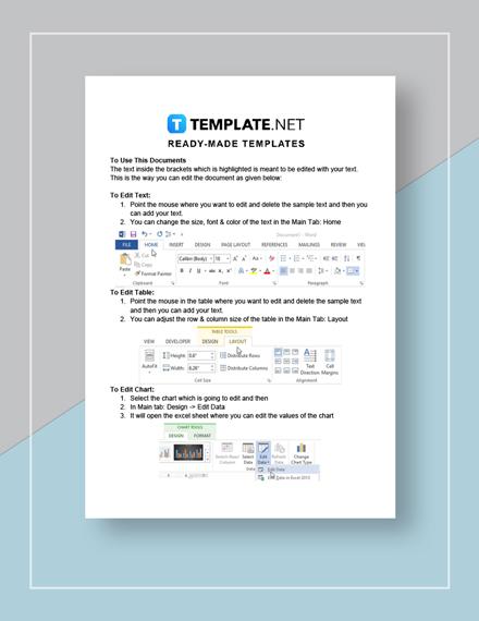 Credit Memo  Excel Instructions