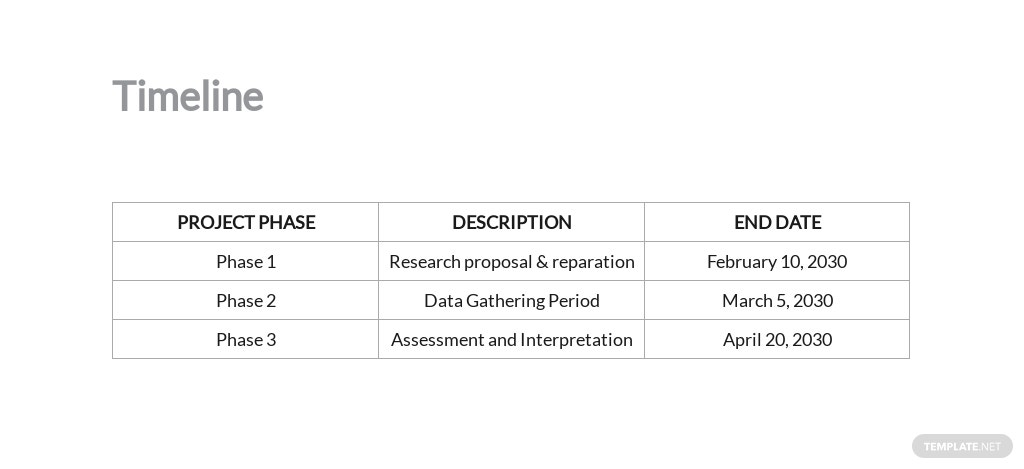 Market Research Proposal Template [Free PDF] - Google Docs, Word, Apple Pages