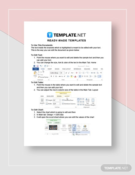 Checklist Business Deductions Instructions