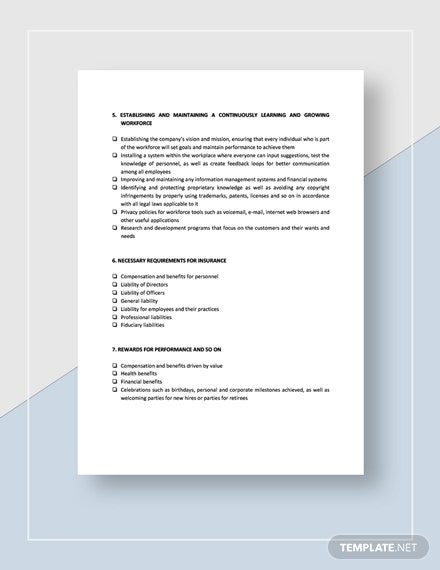 Checklist Risk Management Essentials Download