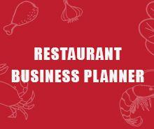 Free Restaurant Business Planner Template