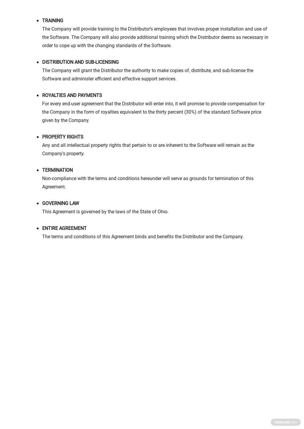 Software Distribution Agreement Long Form Template  2.jpe