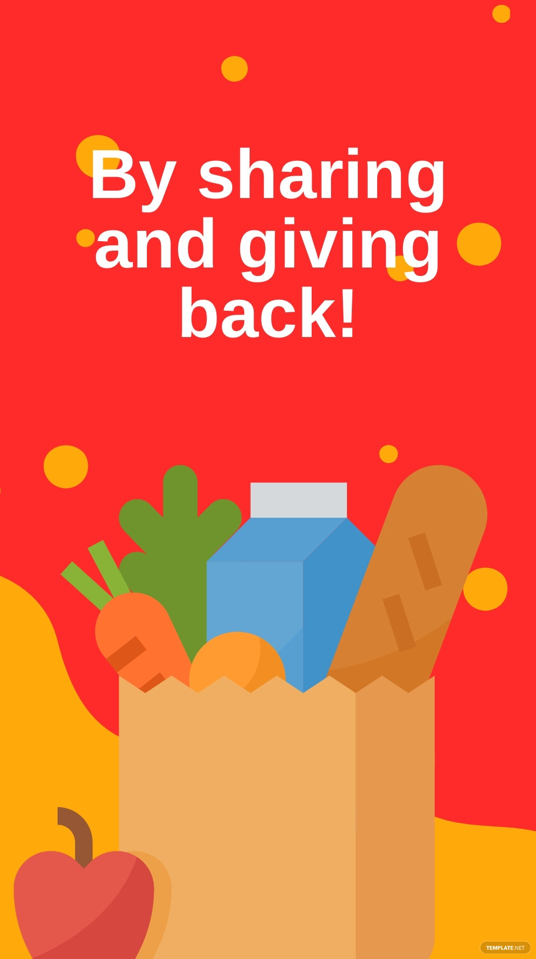 Thanksgiving Food Drive Instagram Story Template 3.jpe