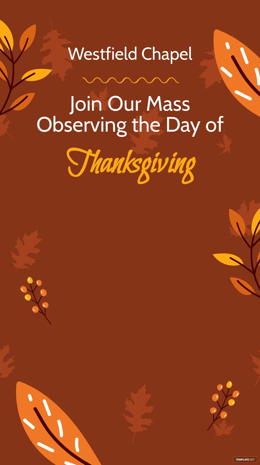 Thanksgiving Church Service Snapchat Geofilter Template.jpe