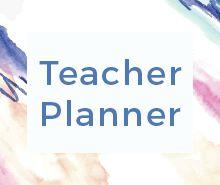 Free Teacher Planner Template