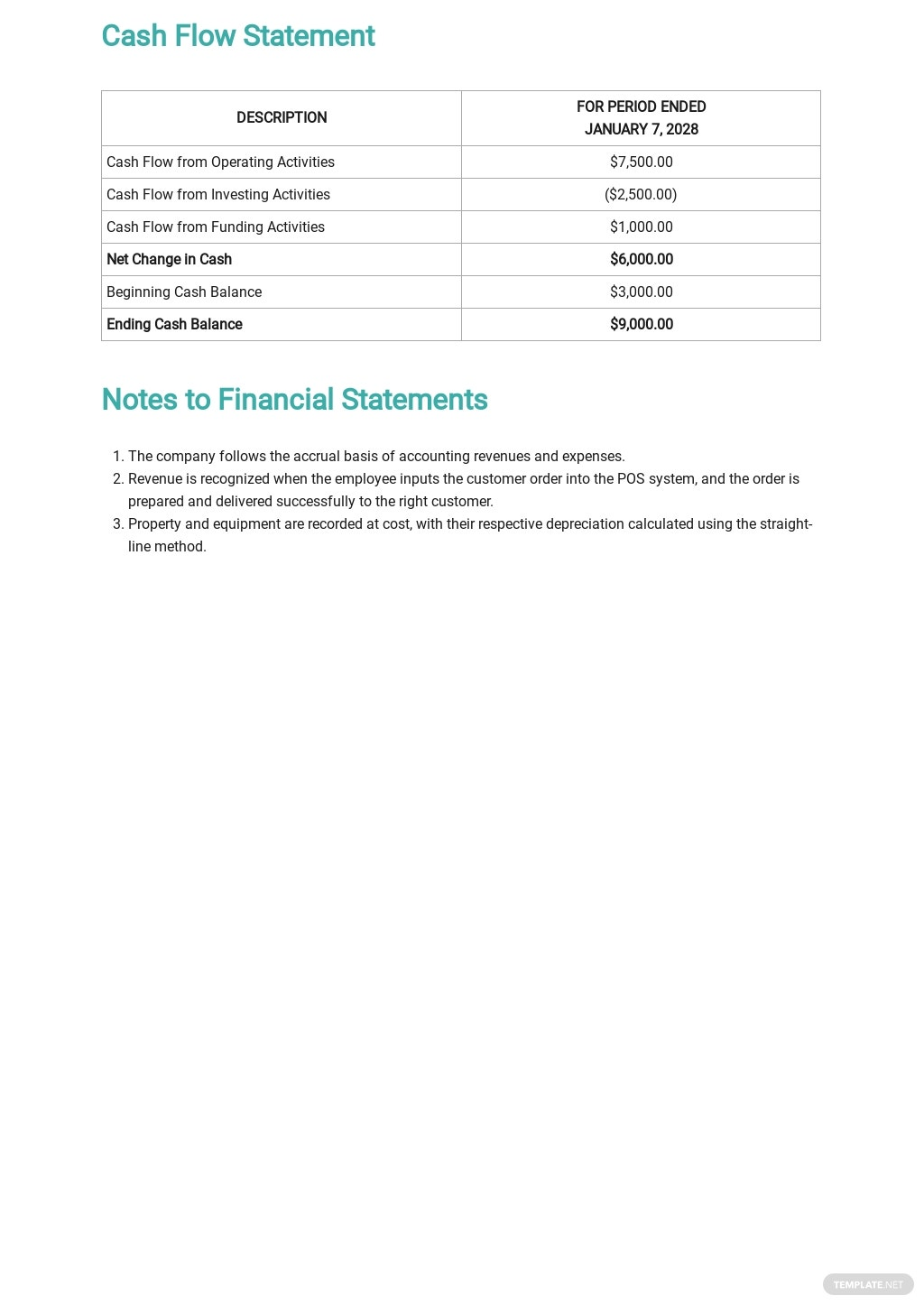 Daily Cash Report Template 2.jpe