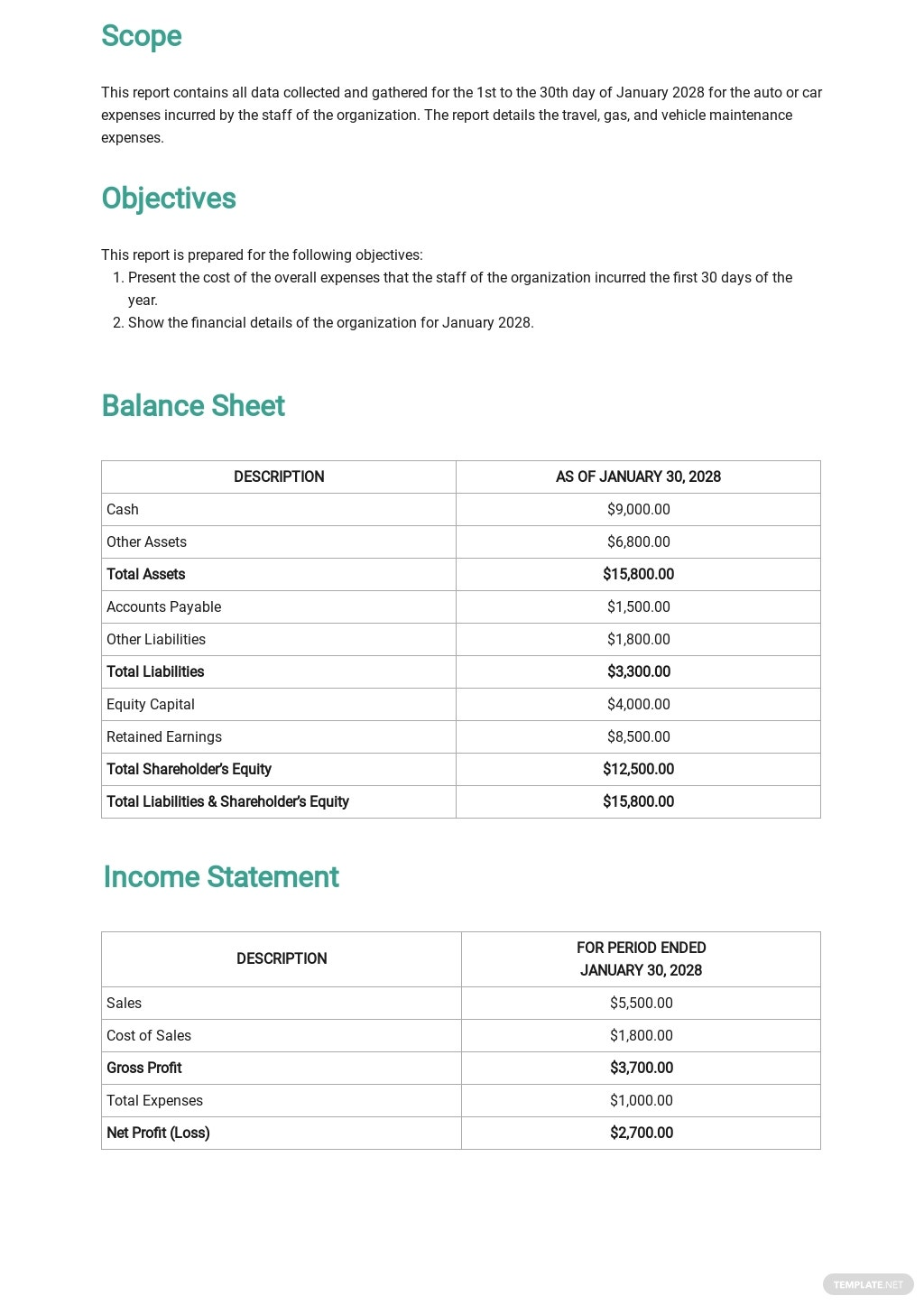 Auto Expense Travel Report Template 1.jpe