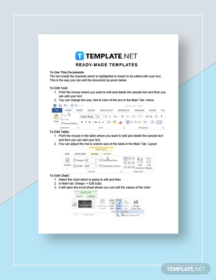 Authorization to Debit Account Template