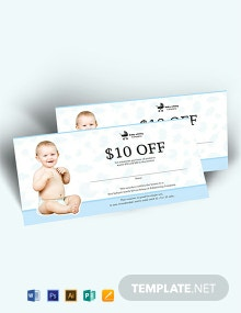Free Babysitting Gift Voucher Template