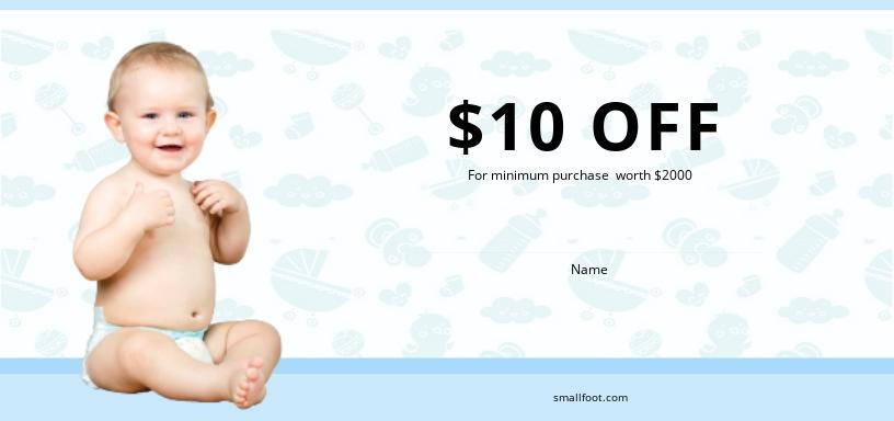 Babysitting Gift Voucher Template