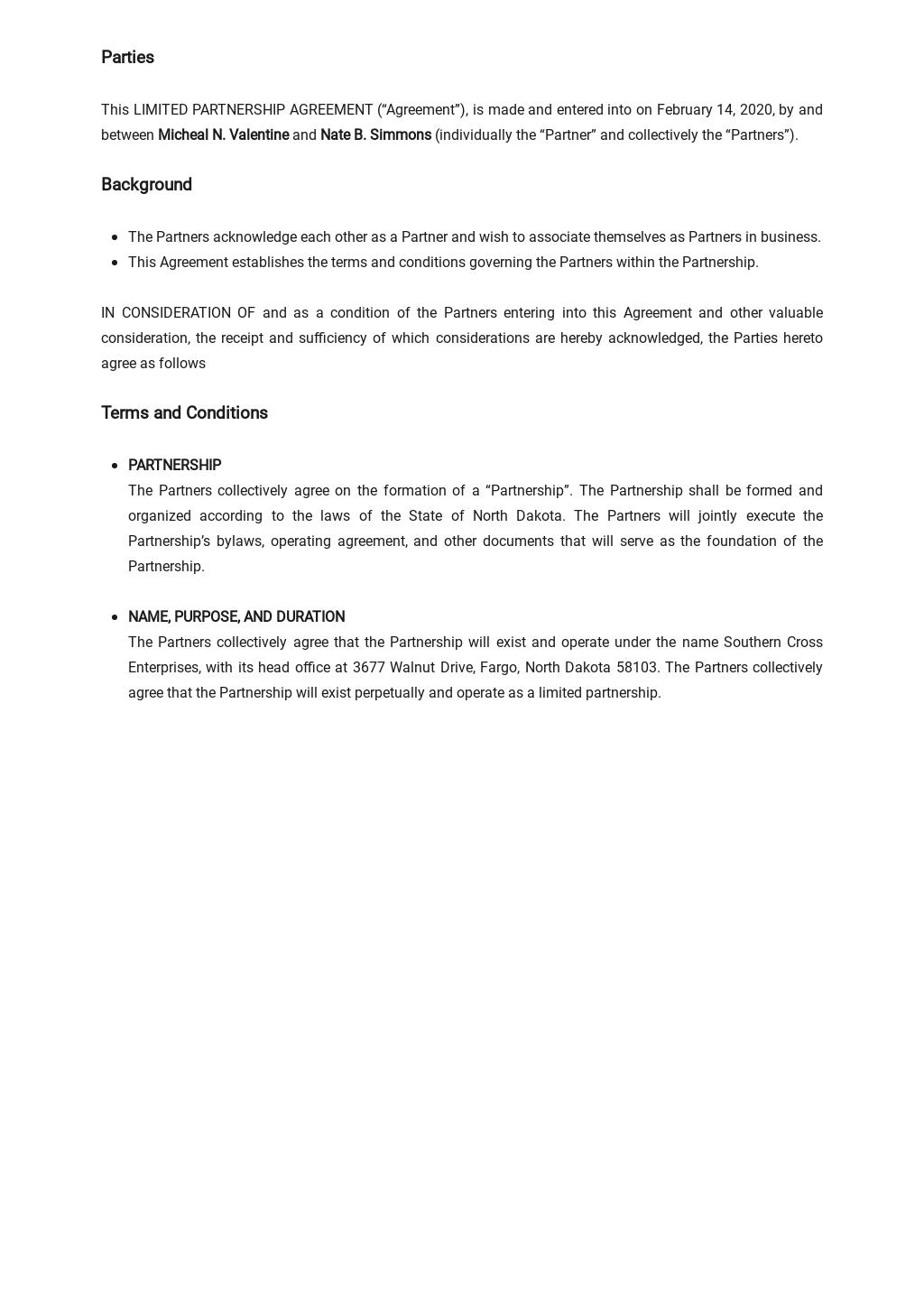 Limited Partnership Agreement Template 1.jpe