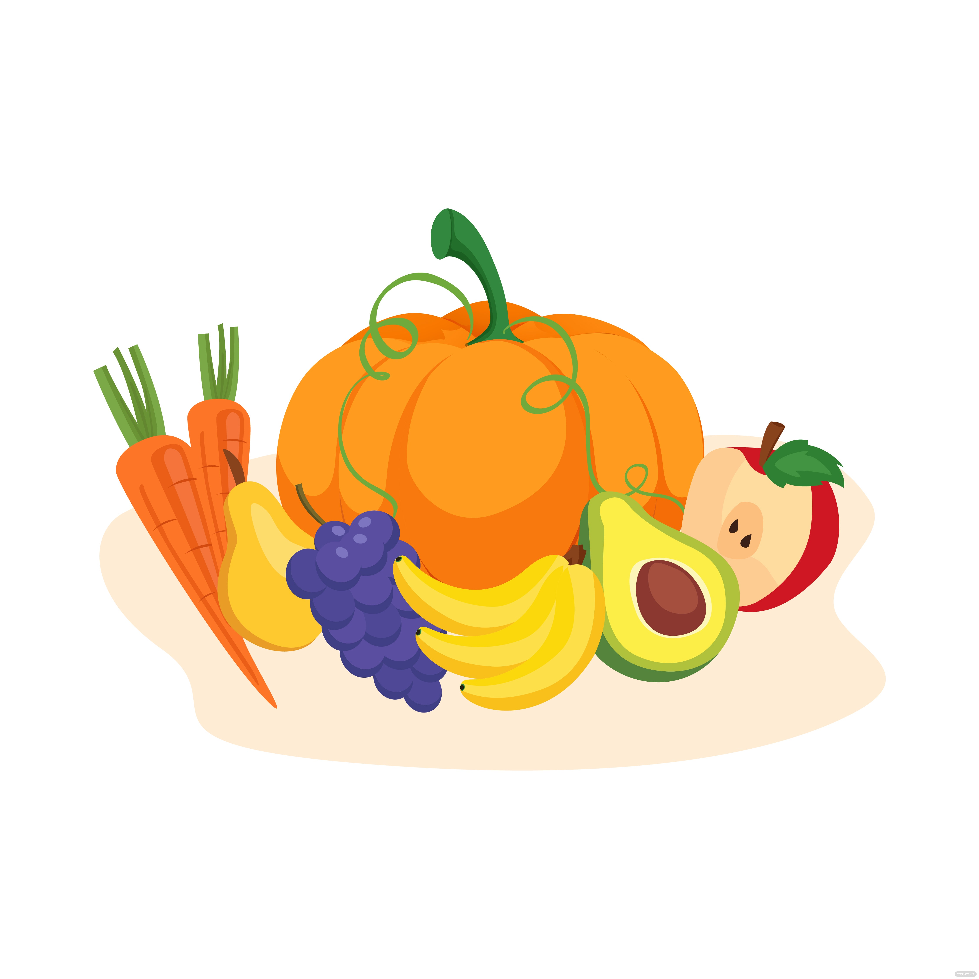 Fall Harvest Vector