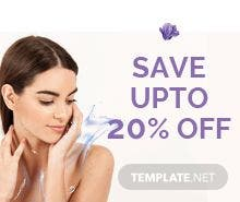 Free Beauty Gift Voucher Template