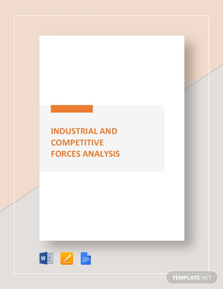 worksheet industry   competitive forces analysis