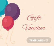 Free christmas gift voucher template in adobe photoshop illustrator free birthday gift voucher template yadclub Image collections