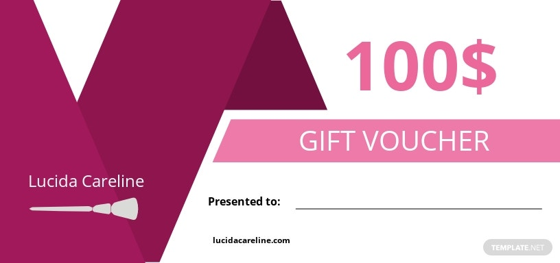 Business Gift Voucher Template
