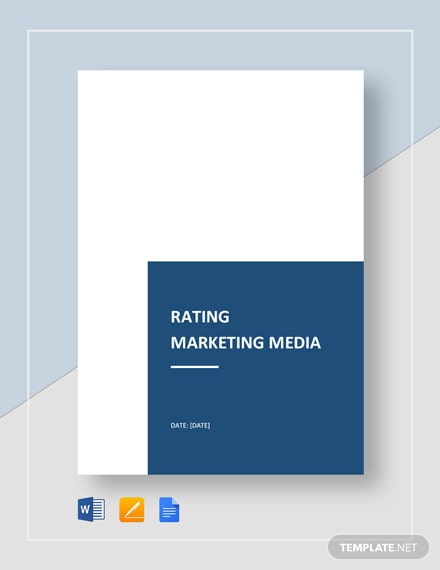 Rating Marketing Media Template