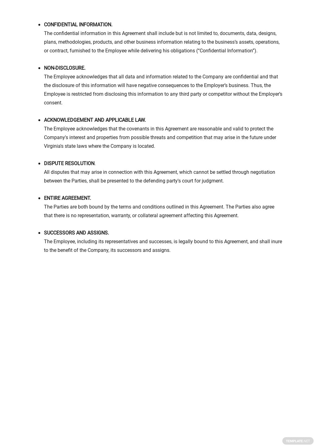 Employee Non Compete Agreement Template 2.jpe