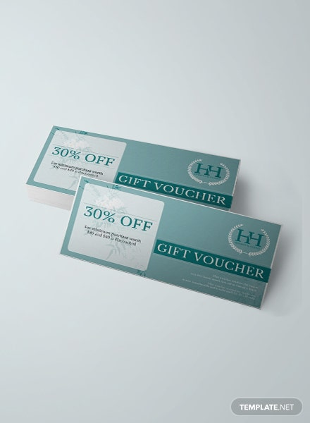 Free Hotel Gift Voucher Template
