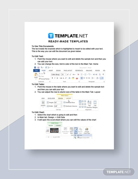 Employment Contract Worksheet Instructions