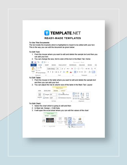 Job Description Form Download