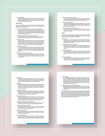 Checklist StartUp Download