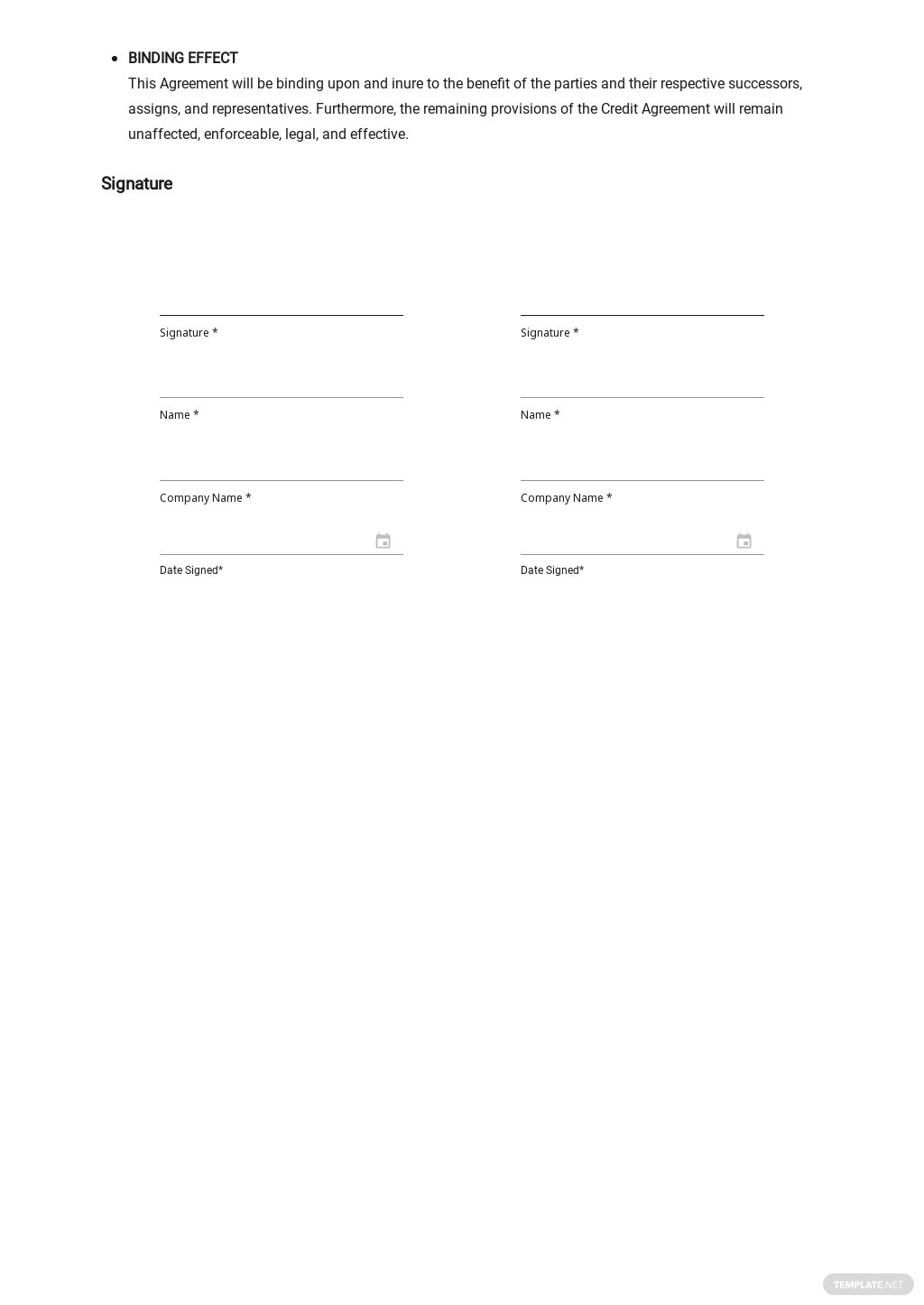 Agreement to Extend Debt Payment Terms Template 2.jpe