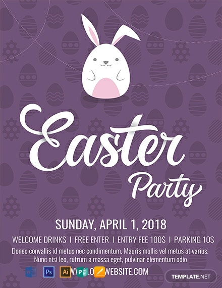 free easter flyer template  download 812  flyers in psd