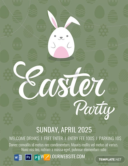 Free Easter Invitation Template