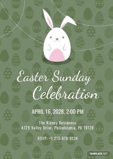 Free Easter Invitation Template.jpe