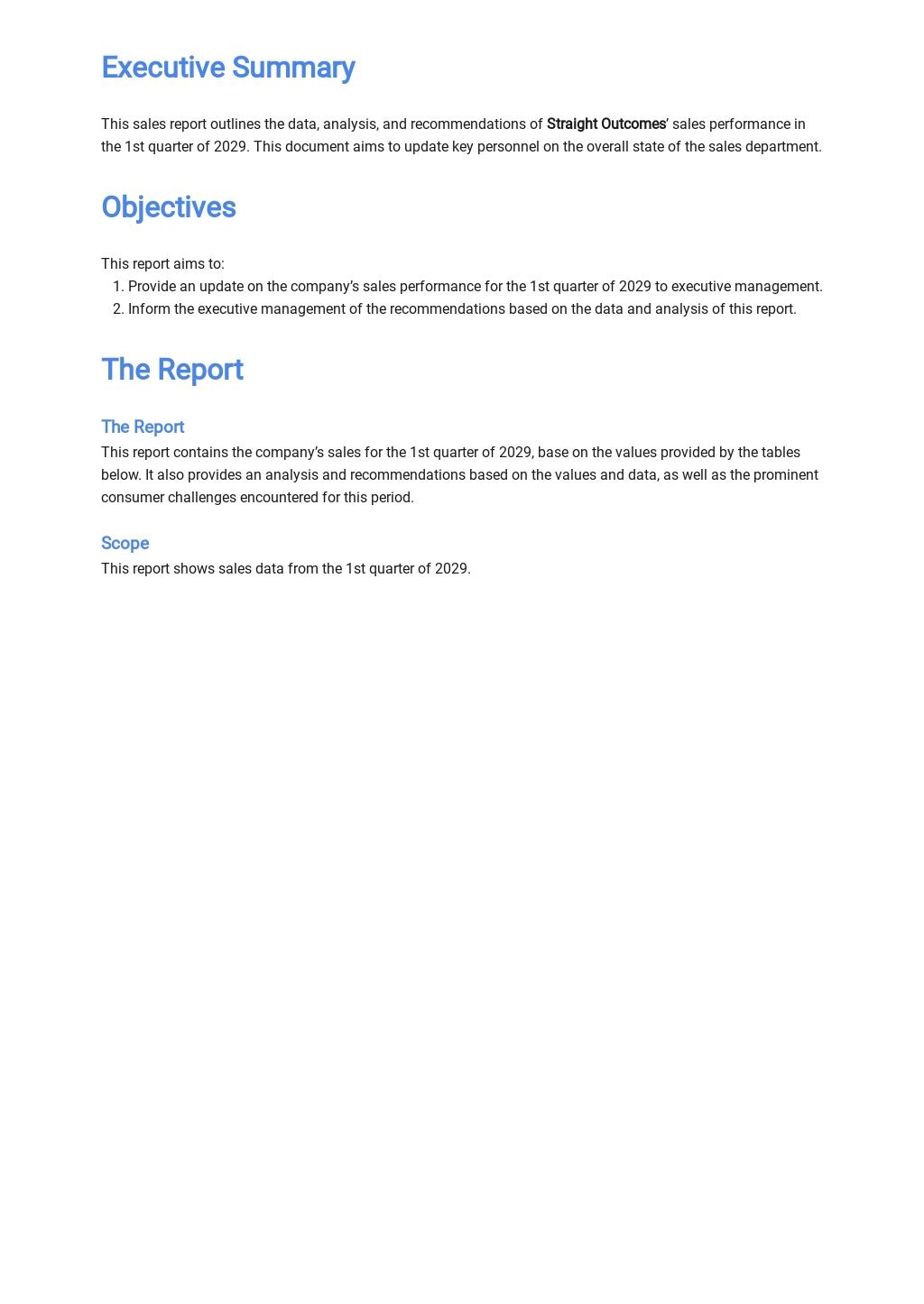 Free Sales Report Template 1.jpe