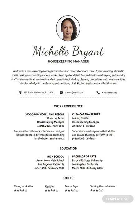 Free Best Fashion Cv Template Download 160 Resumes In