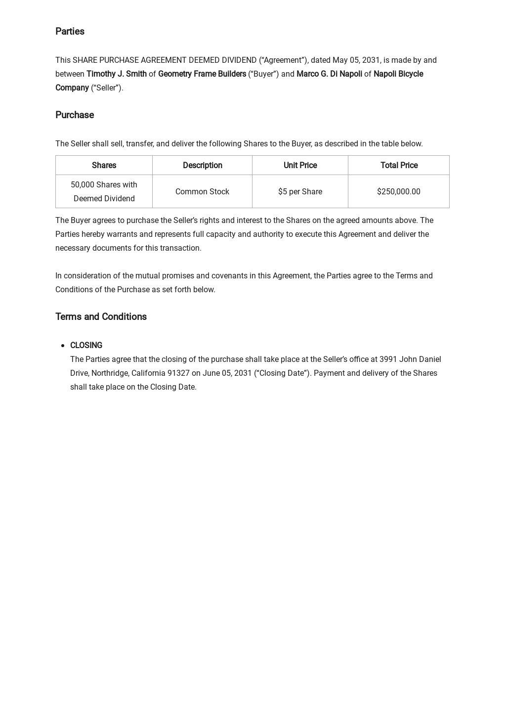 Share Purchase Agreement Deemed Dividend Template 1.jpe