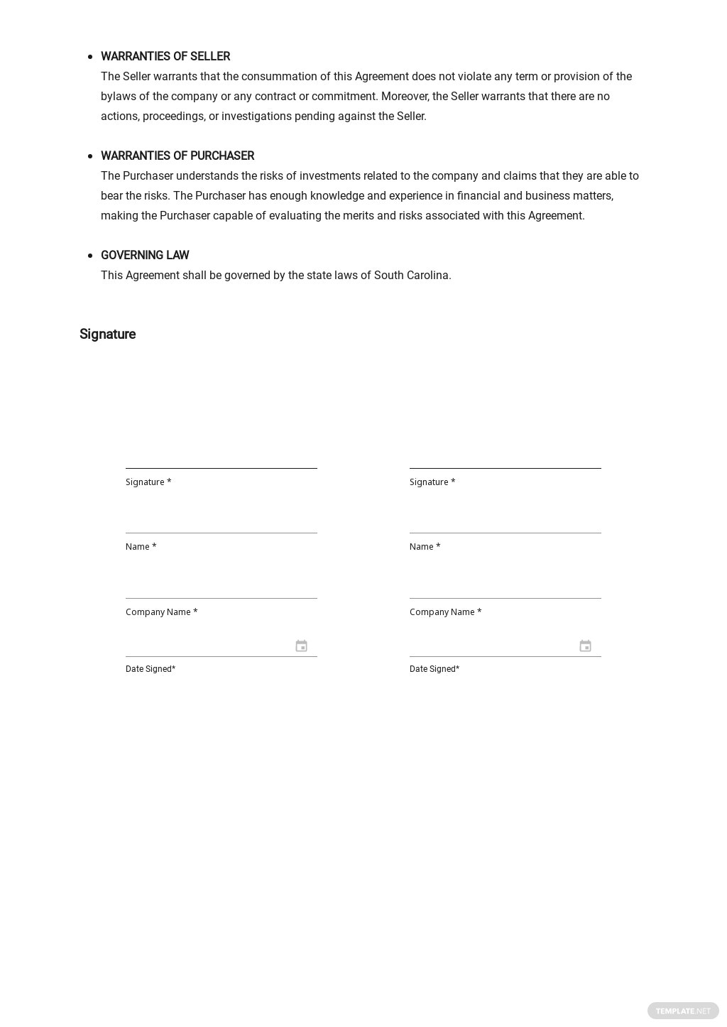 Stock Purchase Agreement Template 2.jpe