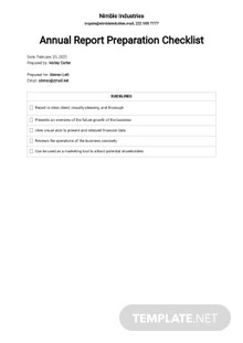Checklist Dealing with Shareholders and Investors Template
