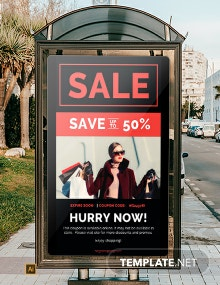 Coupon Code Digital Signage Template